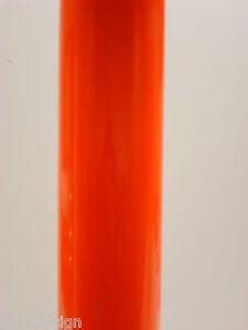 FLUORESCENT ORANGE SELF ADHESIVE VINYL 610mm x 1mtr