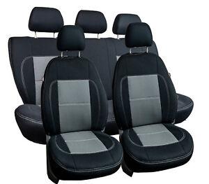 Graue Sitzbezüge für SUZUKI VITARA Autositzbezug Komplett