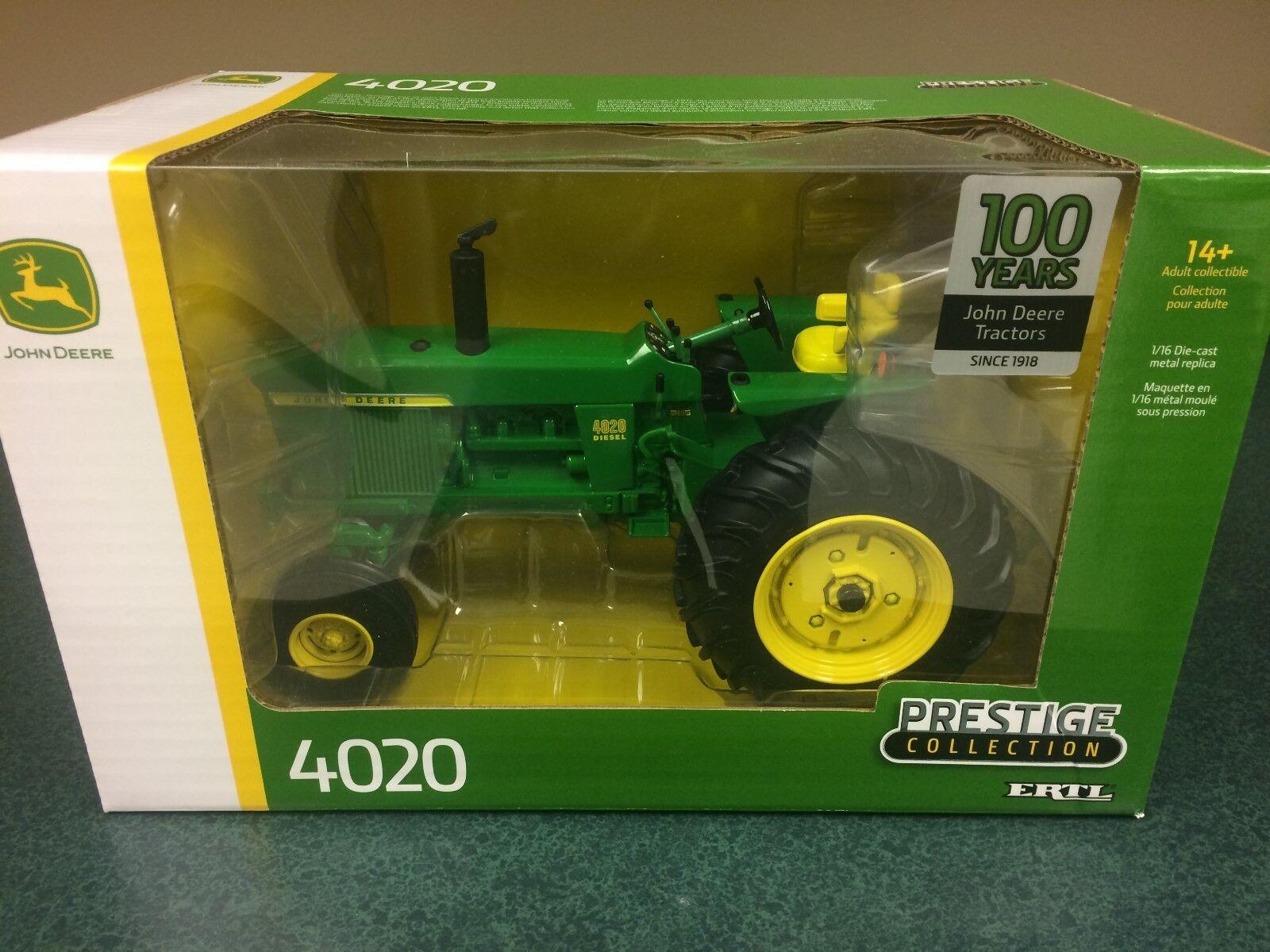 El tractor John Dheere, 100 años, 4020 anchos, cabeza delantera 1   16, lp69416.