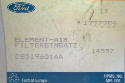 FORD KA DIESEL 1300 AIR FILTER 2010 ONWARDS GENUINE FORD PART 1797984