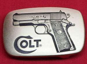 Colt-Firearms-1911-Brass-Belt-Buckle