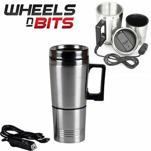 500ml-12V-Vehicle-Travel-Cigarette-Lighter-Stainless-Steel-Water-Heated-Cup-Mug
