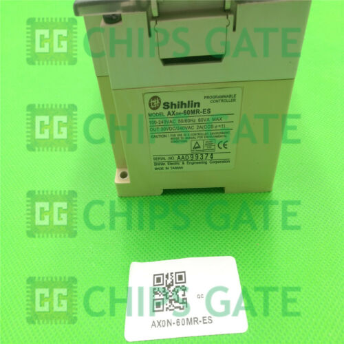 1PCS Used Shihlin PLC AX0N-60MR-ES Tested in Good condition