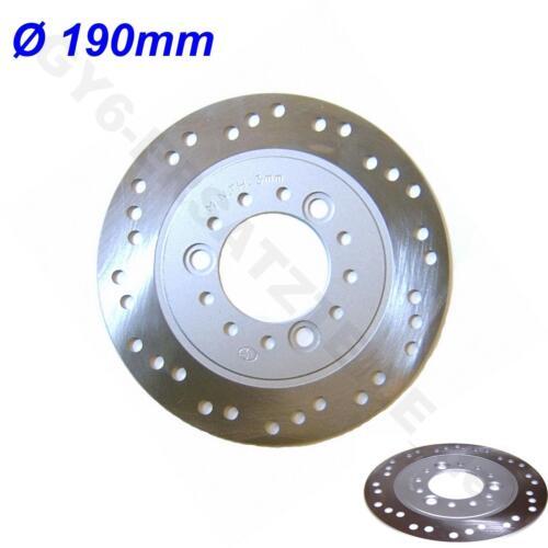 Disque de frein ø 190mm par exemple Baotian Benzhou yiying znen rex rs Hyosung AGM gy6