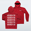 miniatuur 7 - SISTERS-SMALL-FRONT-amp-LARGE-BACK-James-Charles-Hoodie-Make-Up-Artist-Dolan