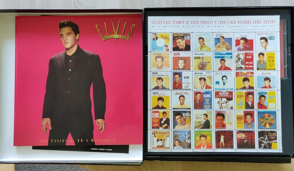 Elvis Presley: BOX 50´60´70´, rock