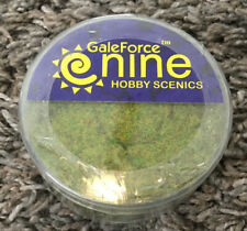 Galeforce9 Hobby Round Dark Green Static Grass GFS014 Erbetta Verde Scuro