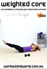 Abs Core Weights EXERCISE DVD - BARLATES BODY BLITZ Weighted Core Workout!