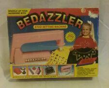 NSI Bedazzler rhinestone and studs machine, pattern sheets, kids craft