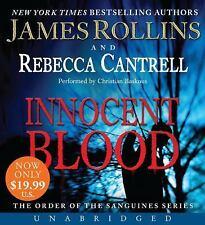 INNOCENT BLOOD unabridged audio book on CD by JAMES ROLLINS