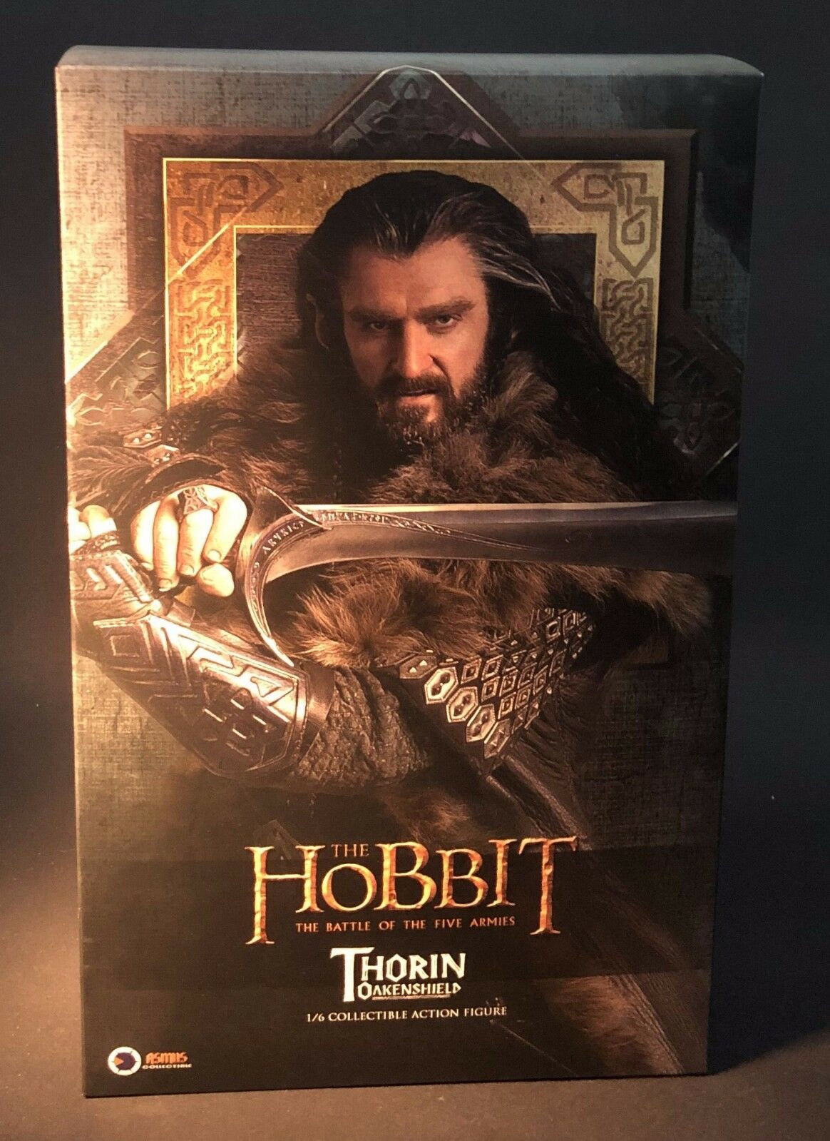 Asmus Juguetes El Hobbit Thorin Oakenshield Enano Rey bajo la montaña 16 figura
