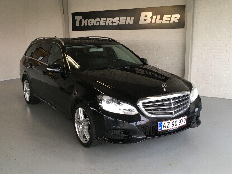 Mercedes E200 2,2 CDi stc. aut. 5d