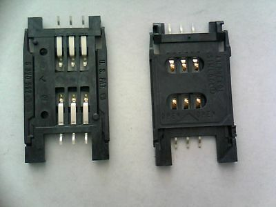 Amphenol chip card reader connector C70710M0060652 SMD Lot-4pcs