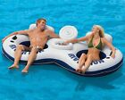 Intex River Run II 2 Person River Run Float Tube & Built-in Cooler With Lid