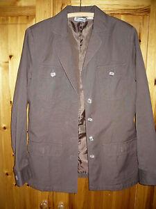 Damen-Jacke-Blazer-Groesse-42-Marke-Women-039-s-Selection-Damenjacke-braun