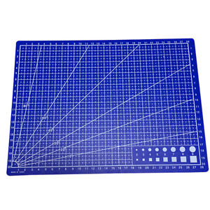 Cutting-Craft-Mat-Printed-Line-Grid-Scale-Plate-Knife-Leather-Paper-BoardEE