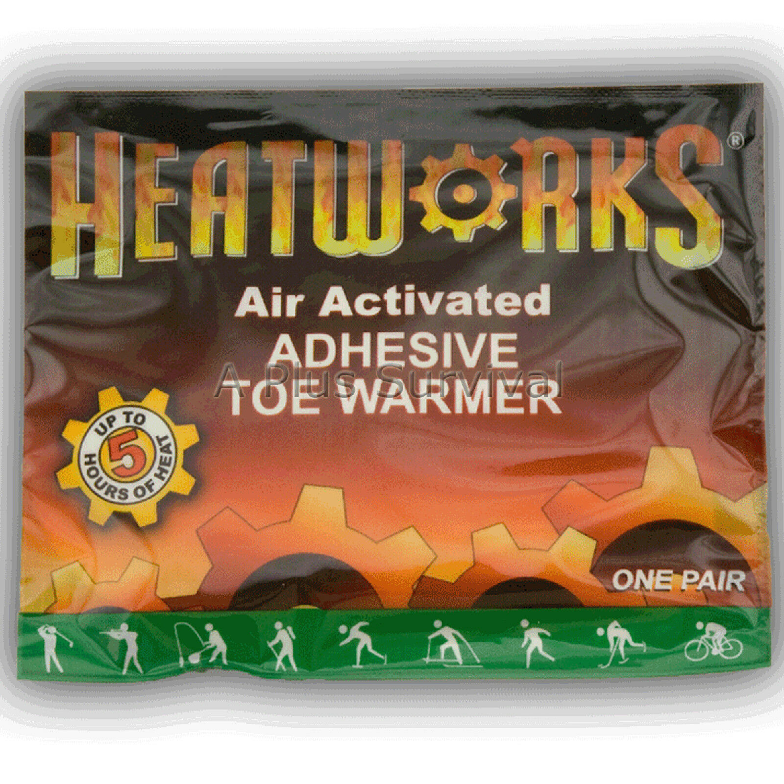 48 Pairs of Heat Works Toe Foot shoes Warmers Snow Cold Emergency Survival Kits