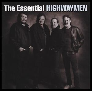 HIGHWAYMEN-2-CD-THE-ESSENTIAL-JOHNNY-CASH-WAYLON-JENNINGS-WILLIE-NELSON-NEW