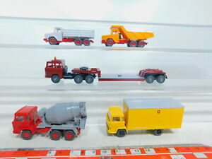 By357-0-5-5x-Wiking-h0-1-87-Magirus-modelo-hormigoneras-bandeja-kipper-etc-Top