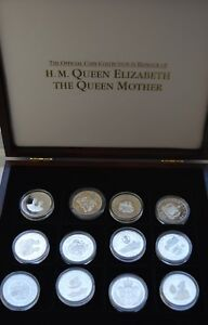 Royal-Mint-Silver-Proof-The-Queen-Mother-Coin-Collection-1994-to-1999-Choose