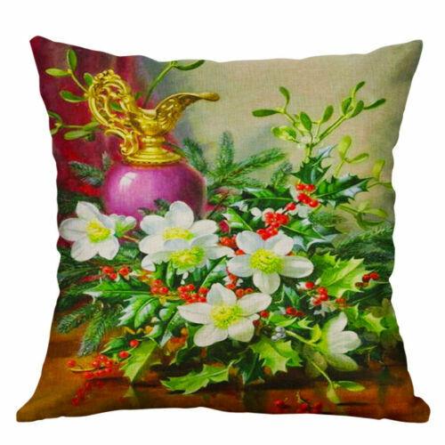Cover Pillow Case 18/'/'Pillow Covers Flower Home Cushion Sofa Decor vintage Waist