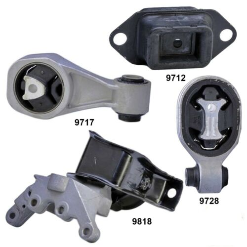 Engine Motor /& Trans Mount 4Pcs Set for Nissan Juke 11-17 1.L Front Wheel Drive