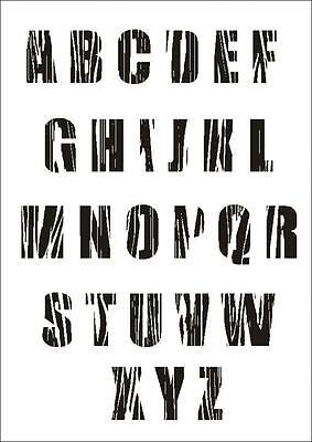 Wandschablone Maler T-shirt Schablone W-644 Schrift Keltisch ~ UMR Design