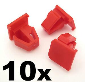 10x-Honda-Cr-v-Rueda-De-Plastico-Arco-Trim-Clips-aleron-delantero-Trim-sujetadores-Crv