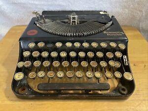 Vintage Early Remington Portable Typewriter