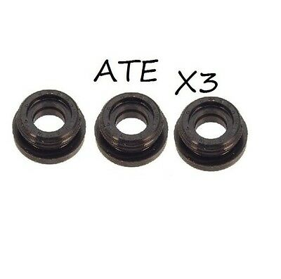 MERCEDES W123 W140 ATE SET OF 3 Brake Master Cylinder Grommet 000 431 09 50