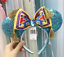 thumbnail 1 - Disney-Aladdin-Jasmine-Magic-Carpet-Bow-Sequined-Minnie-Ears-Headband-NEW