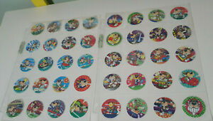 CHESTER-CHEETAH-BLUE-TAZOS-TAZOS-FROM-90S-COMPLETE-SET-OF-40