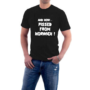Mr Jolly Lives Next Door T-shirt  PISSED FROM NORWICH Comic Strip tee Sillytees