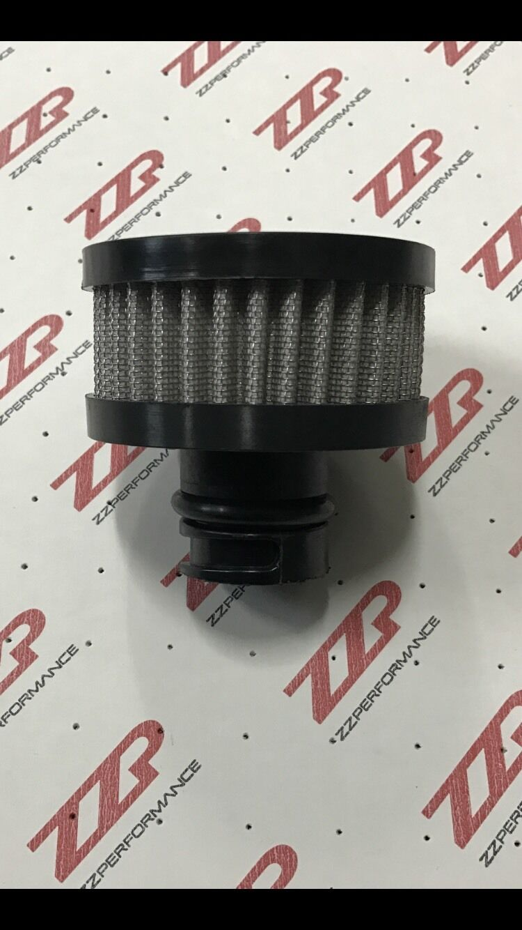 ZZPerformance GM Short Valve Cover Breather replaces oil