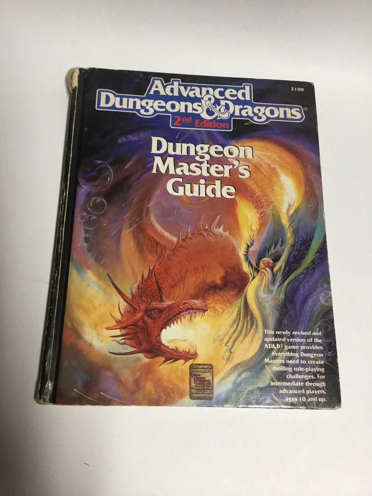 Avancerade Dungeons and Dragons Dungeon Masters Guide TSR 2100