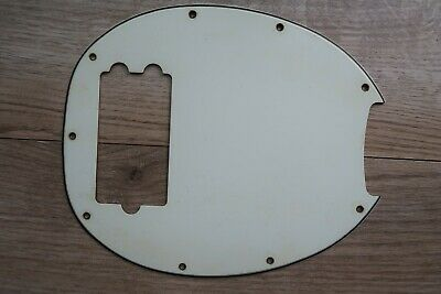WD Music Custom 9-Hole CLEAR ACRYLIC Pickguard for MUSICMAN STINGRAY Bass