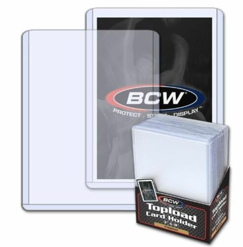 500 Ultra Pro 3 x 4 Toploaders Card Holder Standard Economy /& 500 Card Sleeves