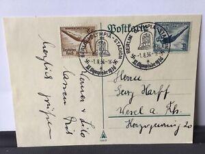 Germany-1936-Olympics-Stadium-Berlin-stamp-post-card-R28187