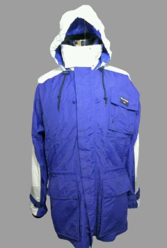 Vintage Ralph Lauren Polo Sport Blue White Hood Ya