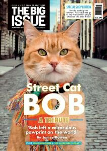 Uk Big Issue Magazine July 2020 Street Cat Named Bob Tribute Issue Ebay