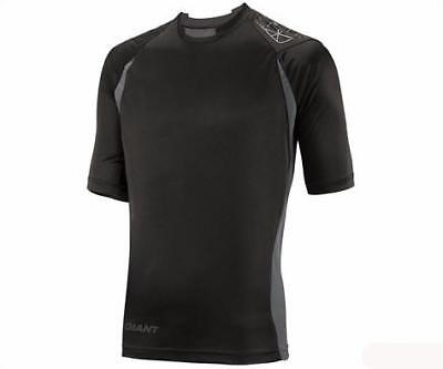 Giant Performance Trail 3//4 Sleeve Jersey Grey//Black Medium Bike Closeout