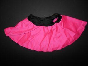NWOT-Wolff-Fording-Dance-Costume-spandex-short-jazz-skirt-Hot-pink-ch-ladies-szs