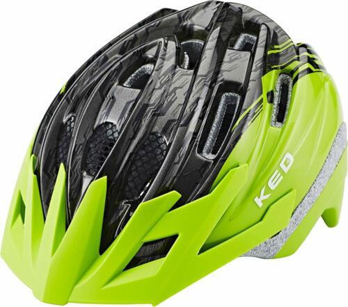 49-55 UVP 69,99 € 86 Fahrradhelm KED Dera Grün Green Black  Gr Nr