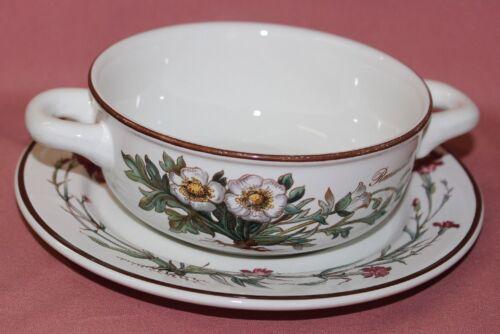 Villeroy Boch v/&b Botanica ranunculusglacialis tasse de soupe avec inférieure RAR 42673