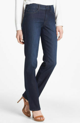 NEW NYDJ Not Your Daughters Jeans Burbank Marilyn Straight 4 6 8 10 12 14 16
