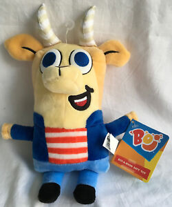 Plush-Boj-SUPER-Soft-Toy-Gavin-Collection-PRE-SCHOOL-CBeebies-TV-Show-25cm-NWT
