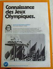 ALBUM PHOTOS CHROMOS CHOCOLAT POULAIN 1981 CONNAISSANCE DES JEUX OLYMPIQUES
