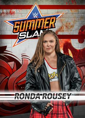 Topps SLAM WWE Ronda Rousey BUNDLE EXCLUSIVE RED SUMMERSLAM 18 DIGITAL CARD
