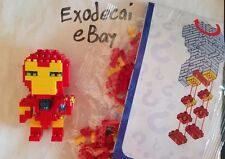 IRON MAN IRONMAN TOYS LEGO MINI NANOBLOCK NANO BLOCK USA SELLER MARVEL COMICS