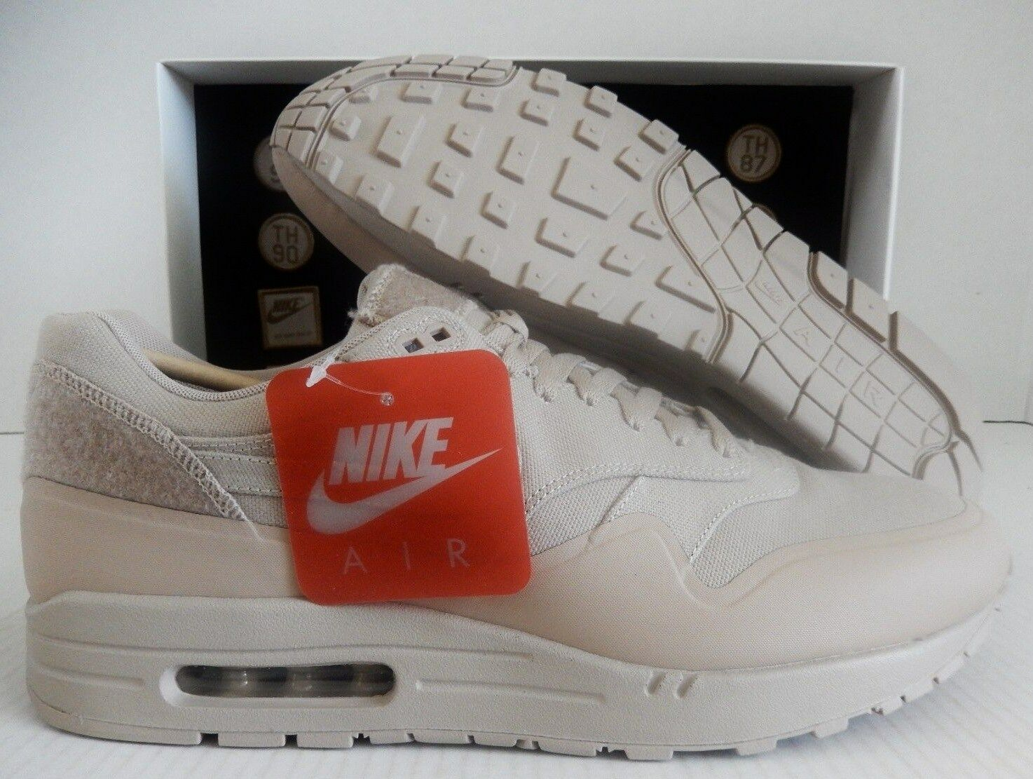 NIKE MEN AIR MAX 1 V SP PATCHES SAND-SAND SZ 9.5 [704901-200]